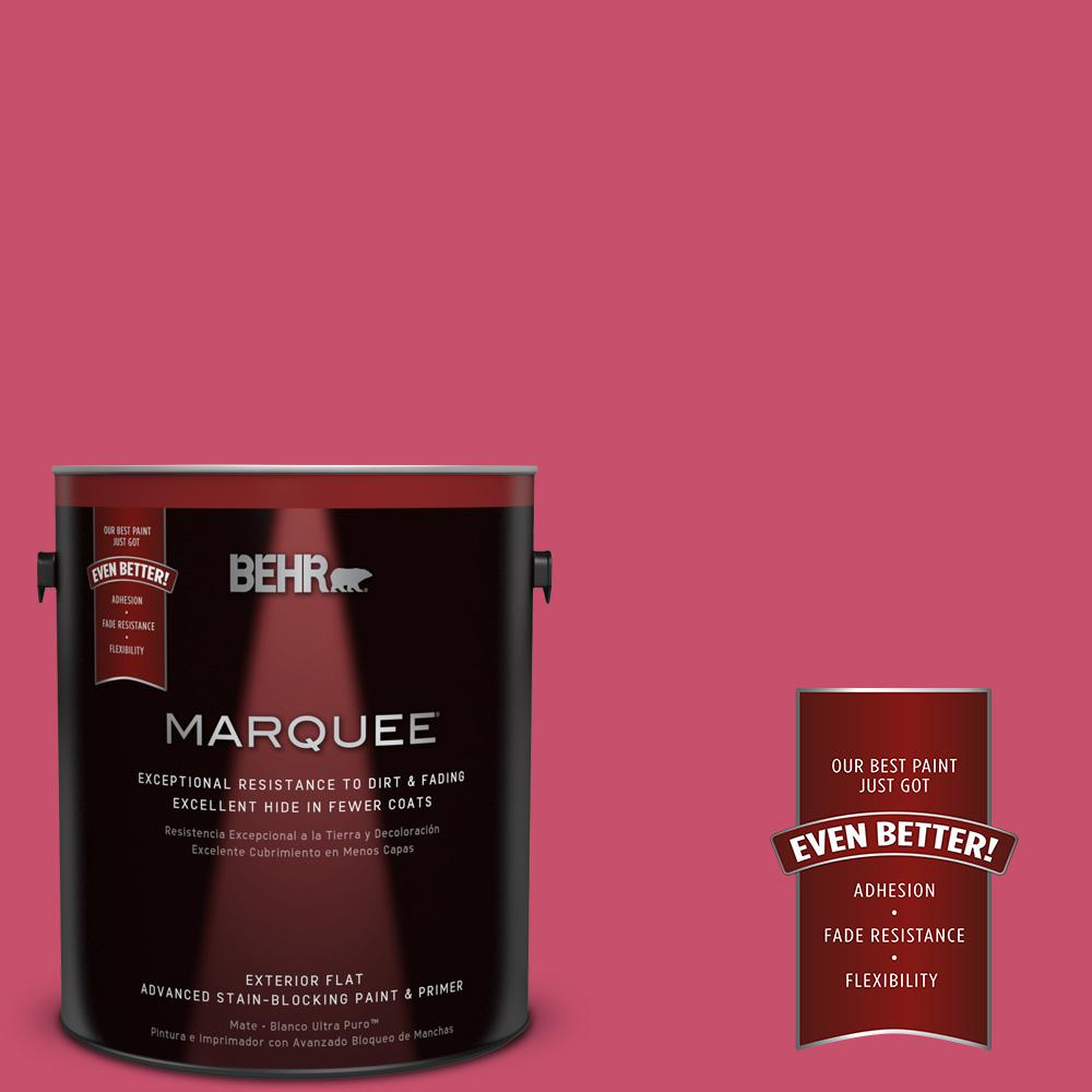 1-gal. #120B-7 Tropical Smoothie Flat Exterior Paint
