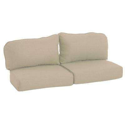 Lily Bay-Lake Adela Sand Replacement Outdoor Loveseat Cushion