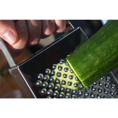 Studio 18/10 3.25 in. Stainless Steel 4-Sided Grater