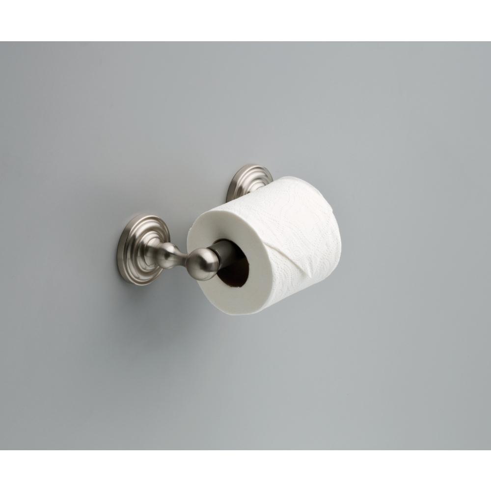 Decor Bathware 124873 Greenwich Bath Toilet Paper Holder Satin NIckel Finish
