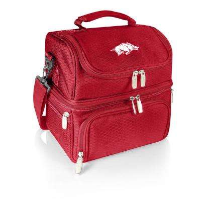 Pranzo Red Arkansas Razorbacks Lunch Bag