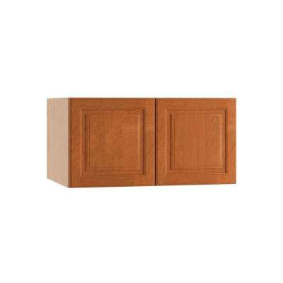 Raised Panel - Medium Brown - Wall - Ready to Assemble Kitchen ...