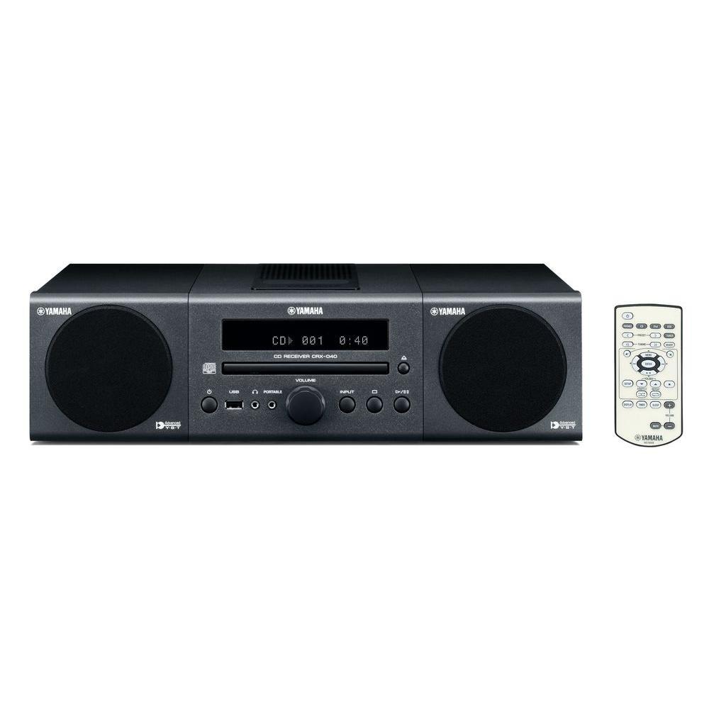 Yamaha Micro Hi-Fi System - Dark Gray-DISCONTINUED
