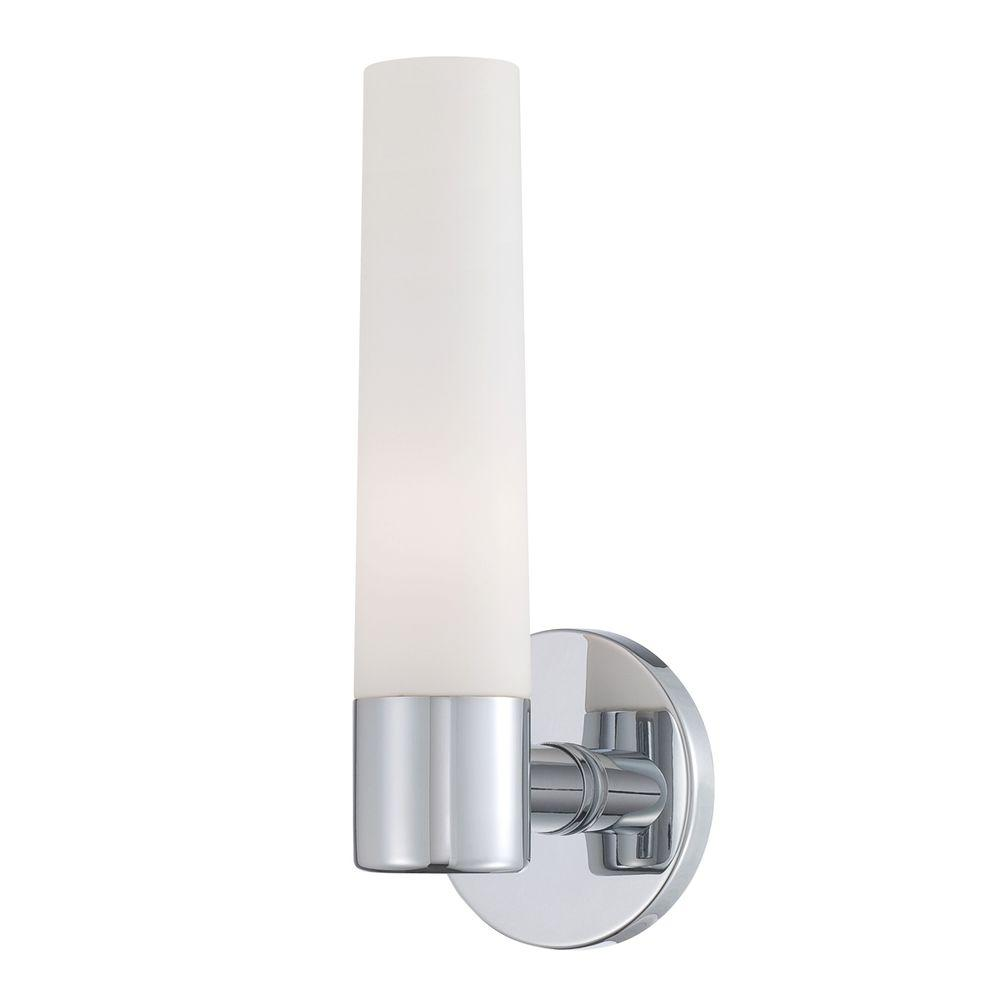 Vesper Collection 1-Light Chrome Wall Sconce