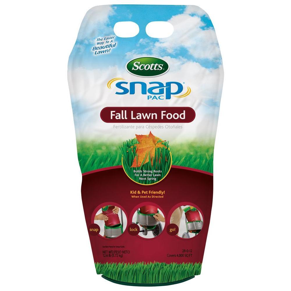 Snap Pac 4,000 sq. ft. Fall Lawn Food