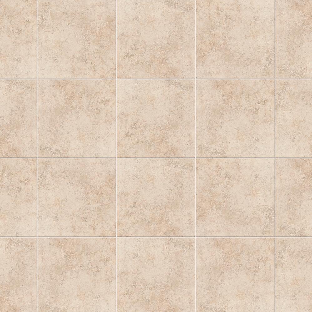 Briton Bone 12 in. x 12 in. Ceramic Floor and Wall Tile (11 sq. ft. / case)
