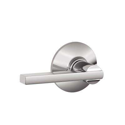 Latitude Bright Chrome Passage Hall/Closet Door Lever