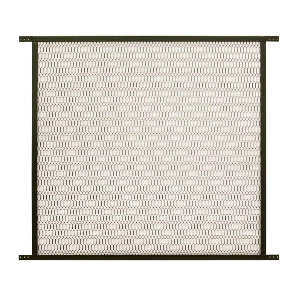 Screen Door Pet Guard Grill Steel Mesh Grille Protector Secure Patio