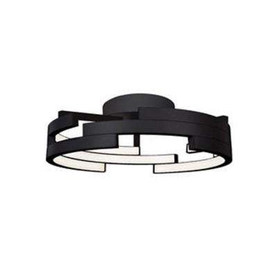 Melissa Black 60-Watt Equivalence Integrated LED Ceiling Flush Mount