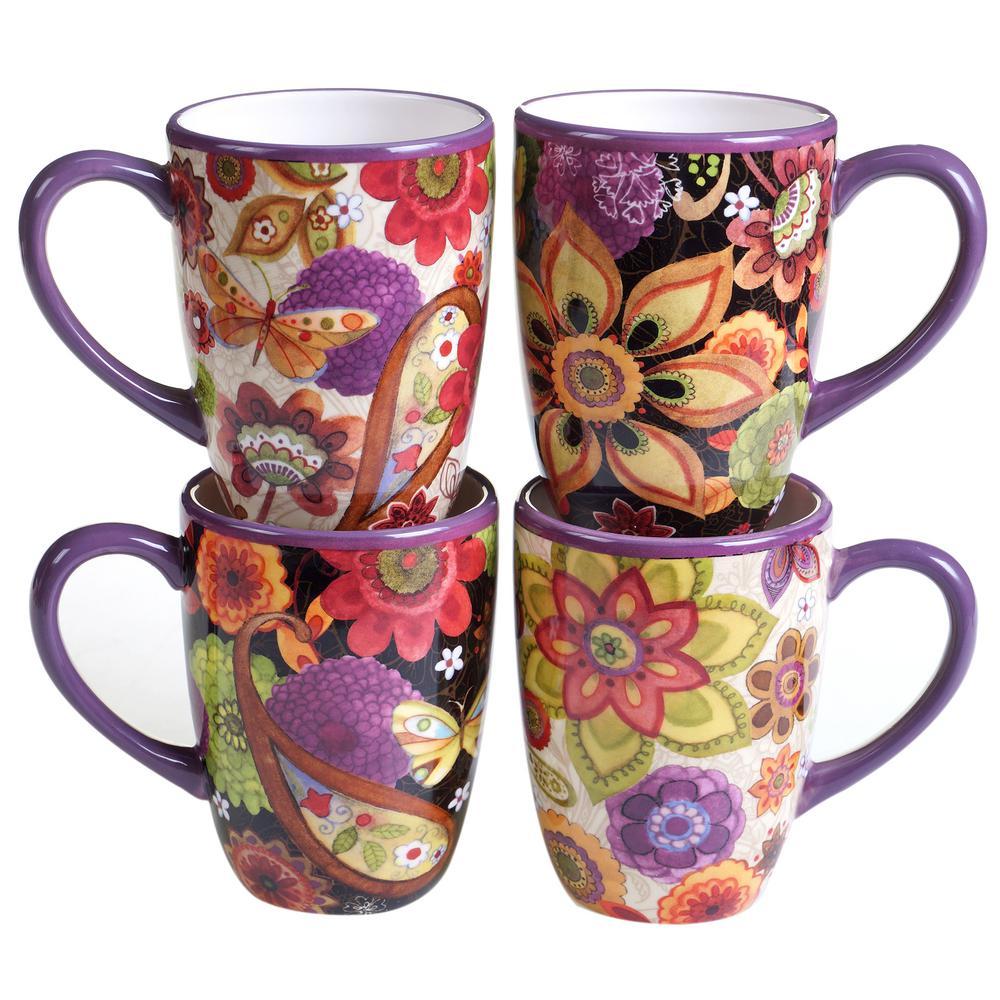 Coloratura 15 oz. Mug (Set of 4) by