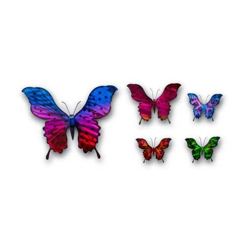 Peterson Artwares Handmade Butterfly Metal Wall Art Ty8114 The Home Depot