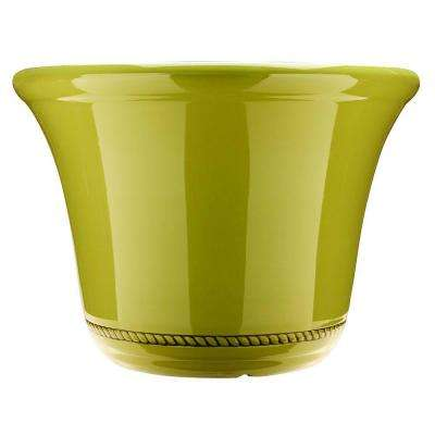 Westbourne Flange 15 in. Dia Prairie Resin Planter
