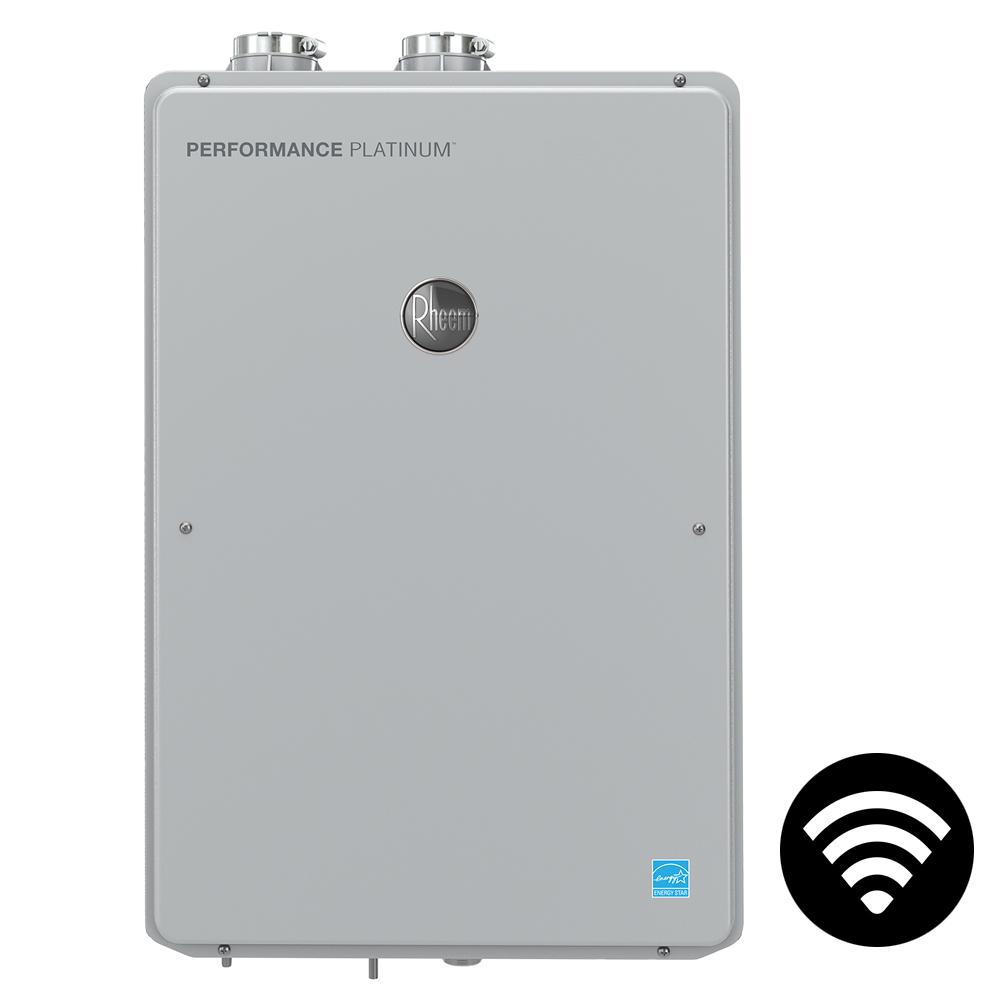 Performance Platinum 9.5 GPM Natural Gas High Efficiency Indoor Smart Tankless