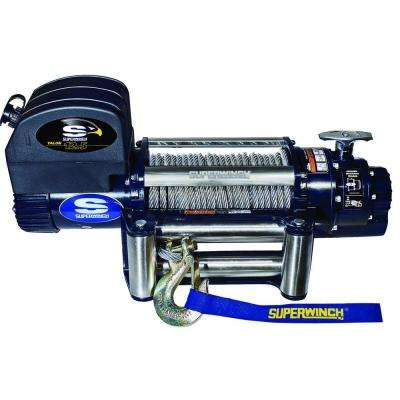 Talon 12.5 12-Volt DC Off-Road Winch with 4-Way Roller Fairlead and Remote