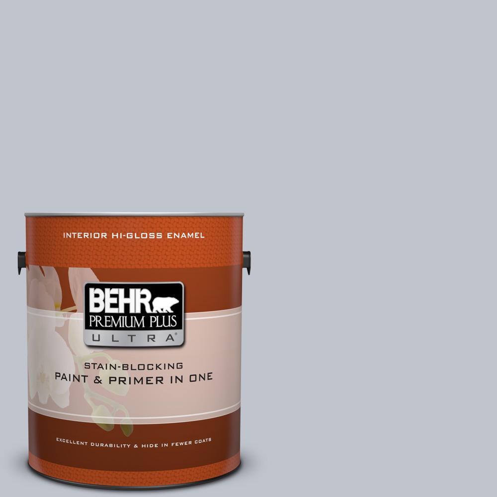 1 gal. #N540-2 Glitter color Hi-Gloss Enamel Interior Paint and Primer