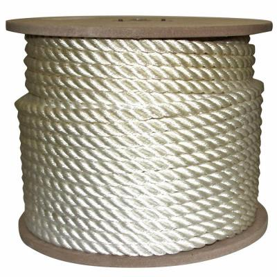 5/8 in. x 300 ft. Twisted Nylon Rope White