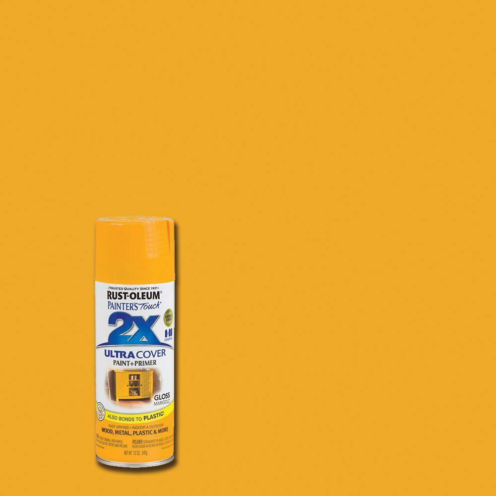 Grabber Orange Spray Paint