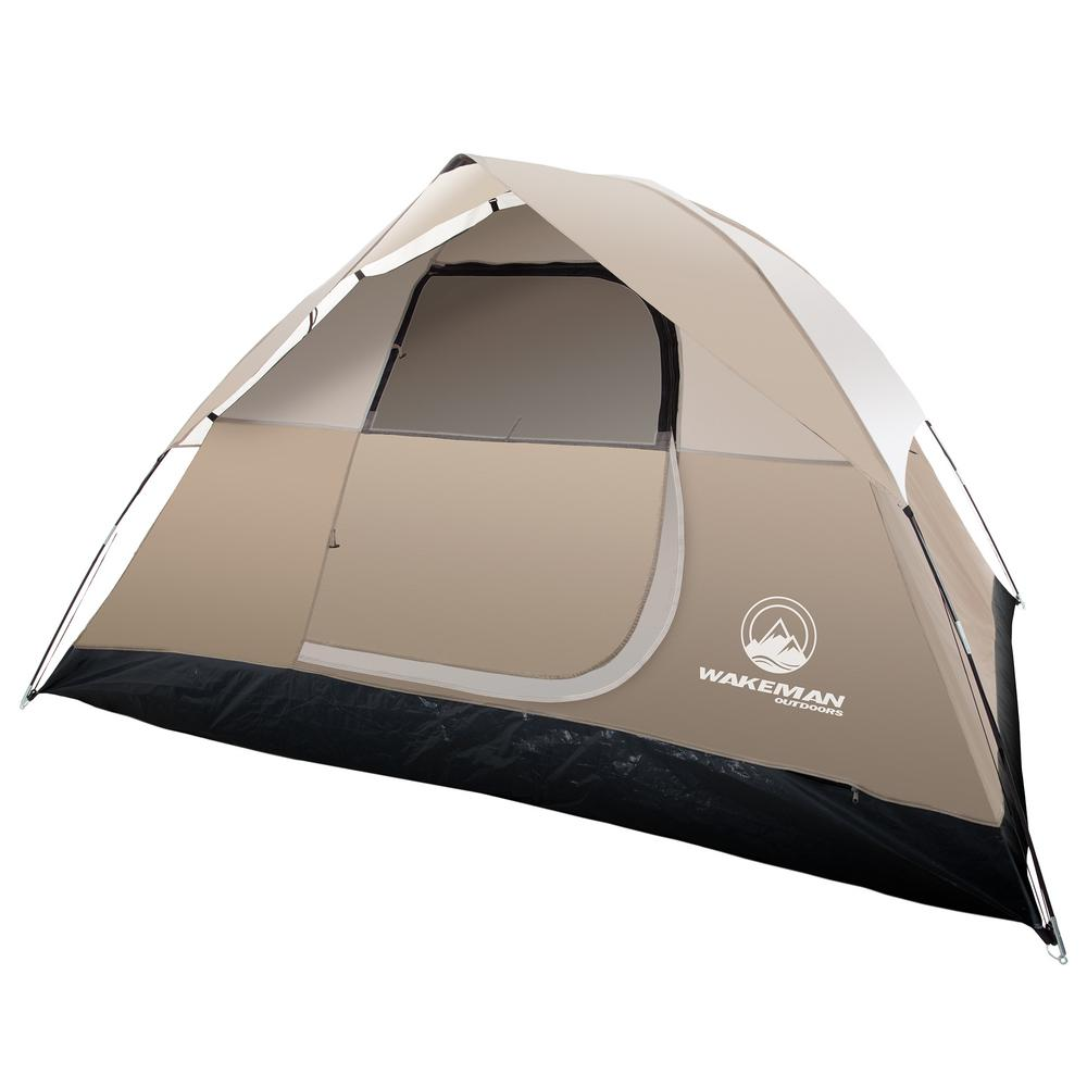 abadd84a0 Wakeman Outdoors 4-Person Dome Tent