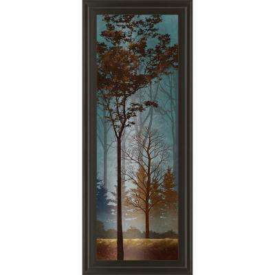 "18 in. x 42 in. ""Fading to Dusk I"" by Conrad Knutsen Framed Printed Wall Art"