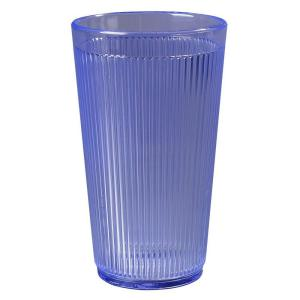 Carlisle 16 oz. Polycarbonate Tumbler in Ocean Blue (Case of 48) by Carlisle