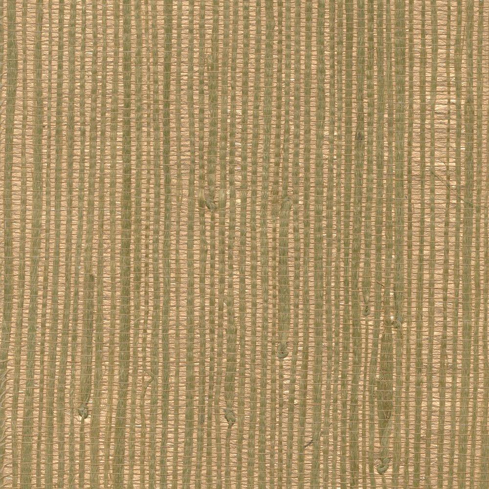 Grasscloth Wallpaper Samples: Kenneth James Tereza Copper Foil Grasscloth Wallpaper