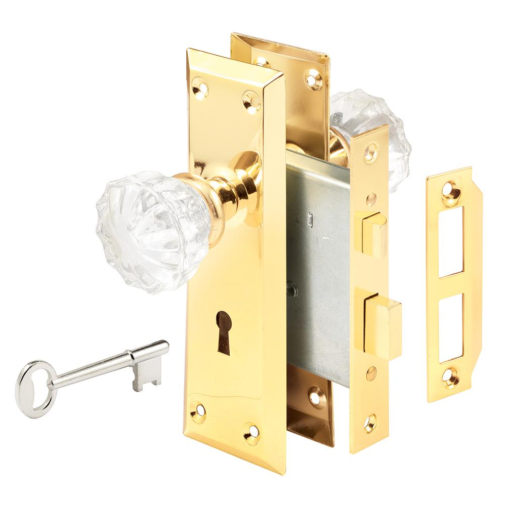 Prime Line Victorian Keyed Mortise Entry Lock Set E 2311