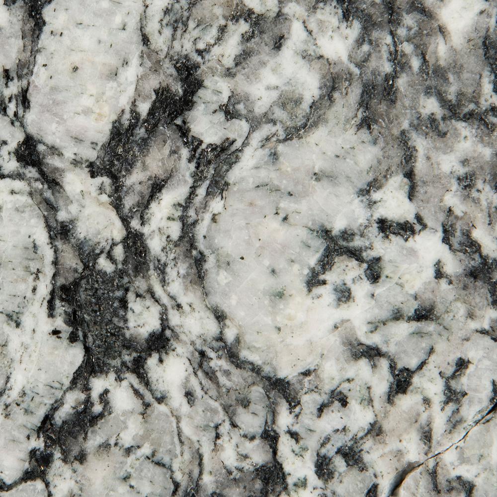 Stonemark Granite 3 in. x 3 in. Granite Countertop Sample in White Mist