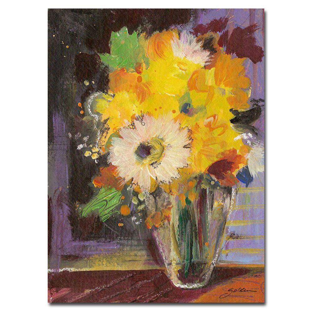 null 24 in. x 32 in. Glass Vase Canvas Art