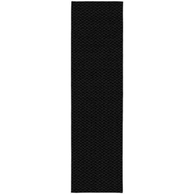 Medallion 3 Ft. x 12 Ft. Area Rug Runner Black