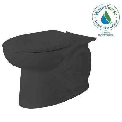 Cadet 3 FloWise Elongated Toilet Bowl Only in Black
