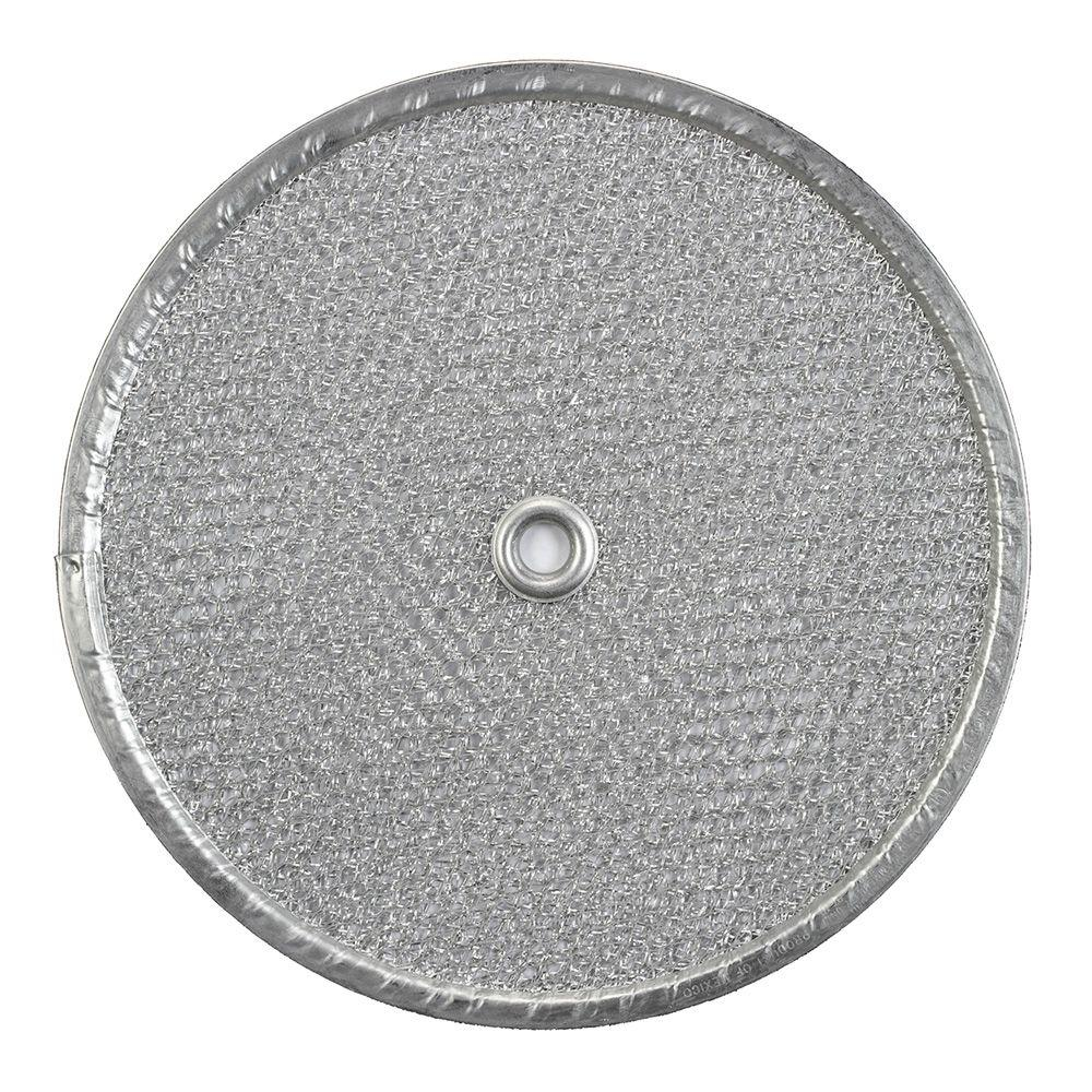 Broan 505/509/509S Series Exhaust Fan 9.5 In. Round Aluminum Replacement  Filter