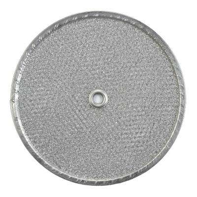 505/509/509S Series Exhaust Fan 9.5 in. Round Aluminum Replacement Filter