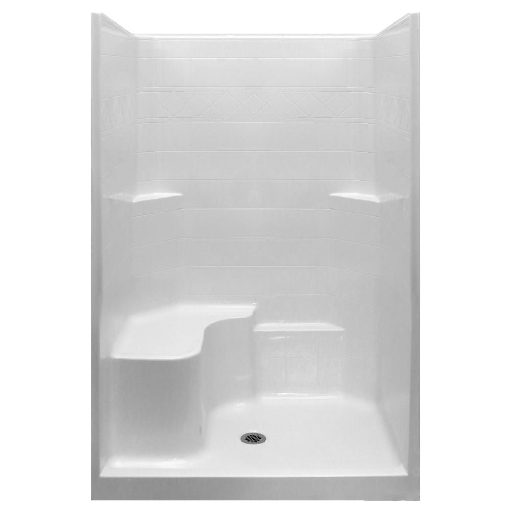 Fiberglass - Shower Stalls & Kits - Showers - The Home Depot
