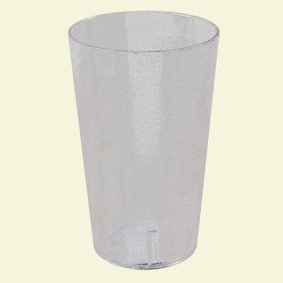 32 oz. SAN Plastic Stackable Tumbler in Clear (Case of 48)