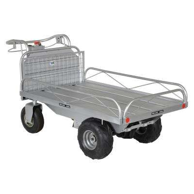 Off-Road Tilting Traction Drive Cart