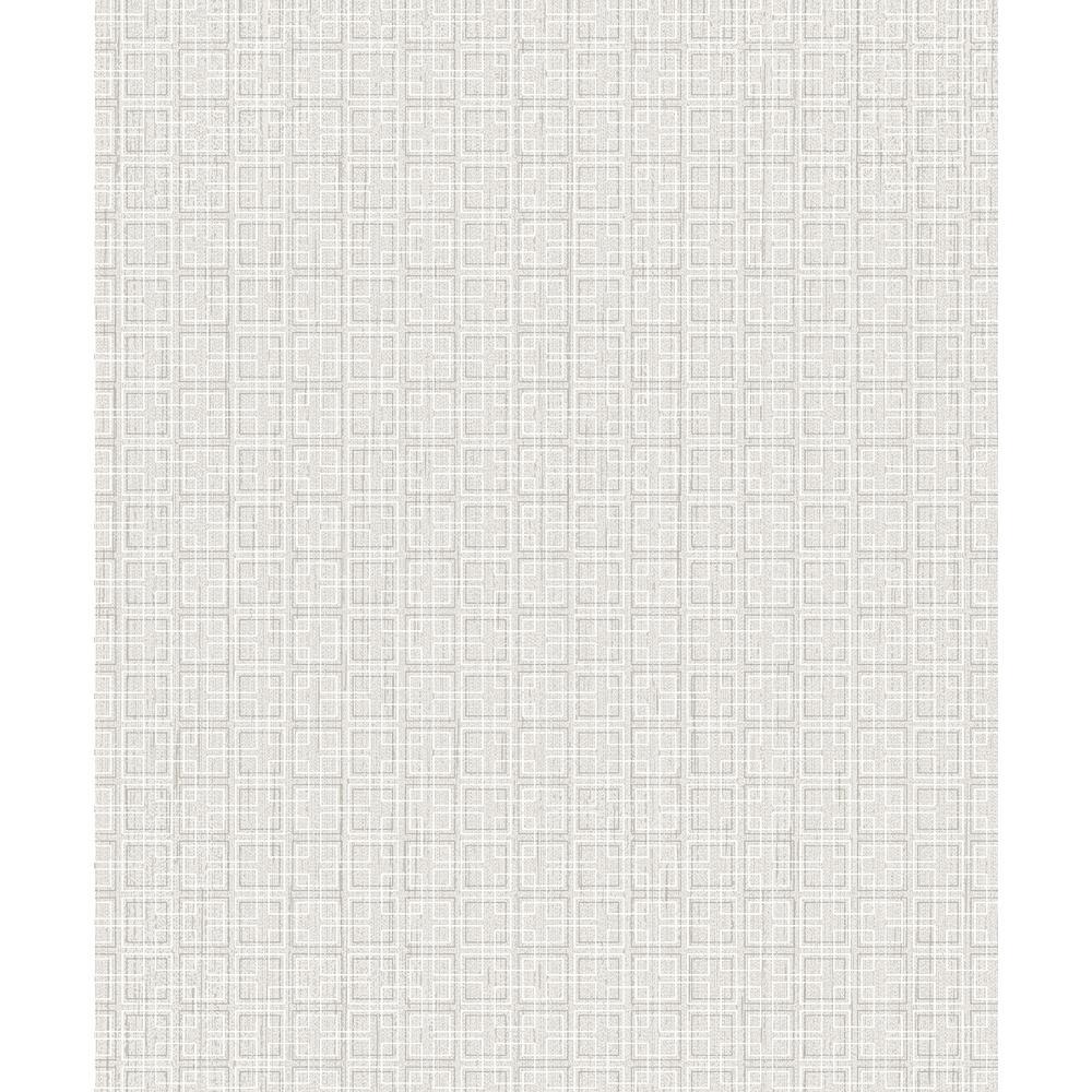 Advantage Garten Grey Geometric Wallpaper 2813-SA1-1101