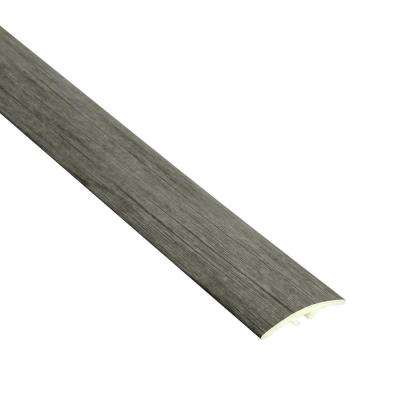 Foxx 7/32 in. Thick x 1 1/2 in. Wide x 94 in. Length Vinyl Multi-Purpose Reducer Molding