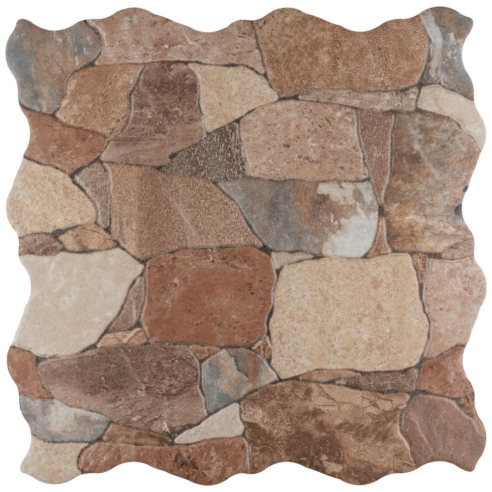 Merola Tile Attica Caldera 16 7 8 In X