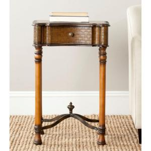 Safavieh Denise Brown End Table by