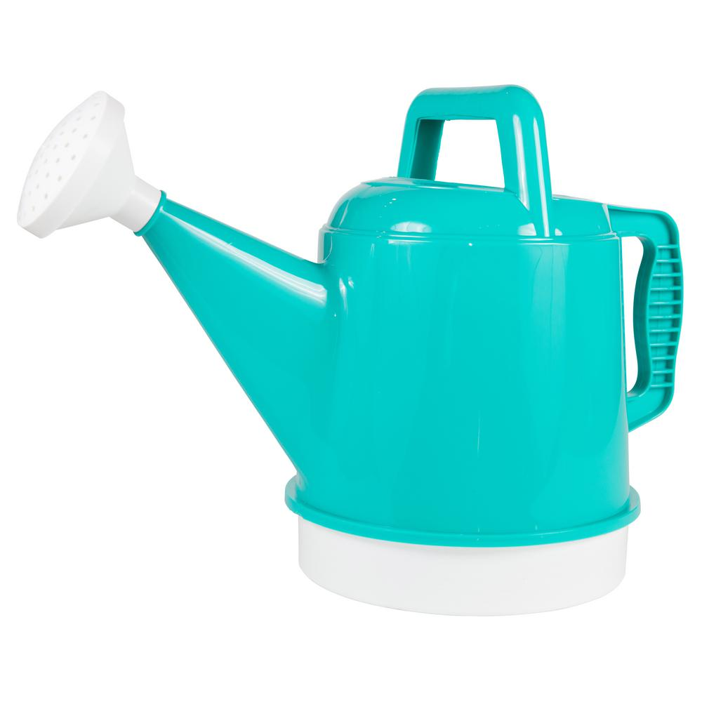 Bloem Watering Can 2.5 Gal. Calypso Plastic Deluxe Collection