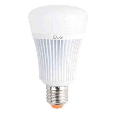 60W Equivalent Warm To Cool White A-Type E26 LED Smart Light Bulb with Remote Control Capabilities