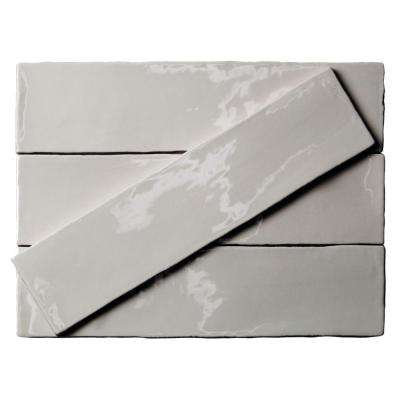 Catalina Gris 3 in. x 12 in. x 8 mm Ceramic Wall Subway Tile