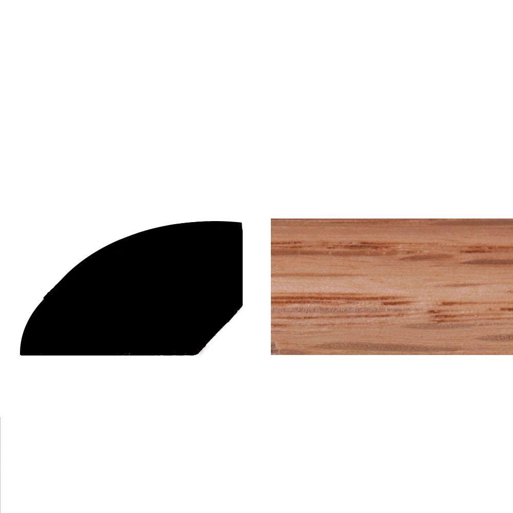 Builders Choice WM127 7/16 in. x 3/4 in. Pre-Finished Natural Oak ...