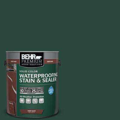 Sc 114 Mountain Spruce Solid Color Waterproofing Exterior Wood Stain And