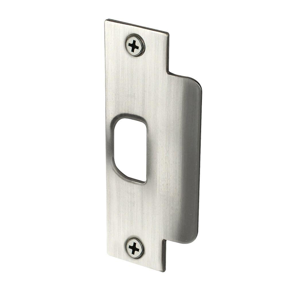 Defiant Satin Nickel Asa Latch Strike 70232 The Home Depot
