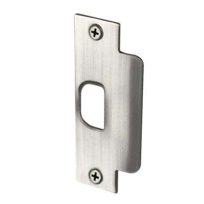 Satin Nickel ASA Latch Strike