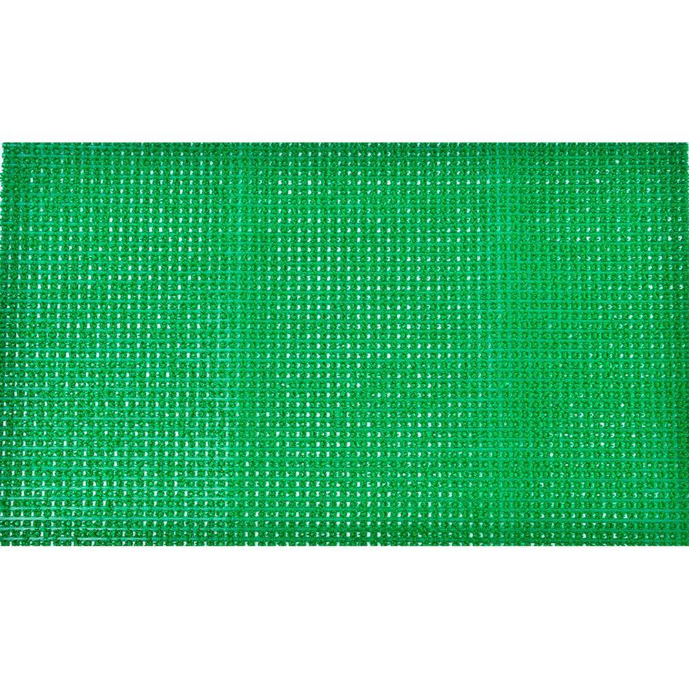 Evideco 31.5 in. x 19.7 in. Green Outdoor Front Door Mat Pixie Artificial Grass