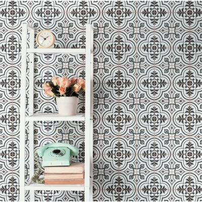 Harmonia Vintage White 13 in. x 13 in. Ceramic Floor and Wall Tile (12.19 sq. ft./Case)