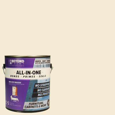 1 gal. Off White Furniture, Cabinets and More Multi-Surface All-in-One Refinishing Paint