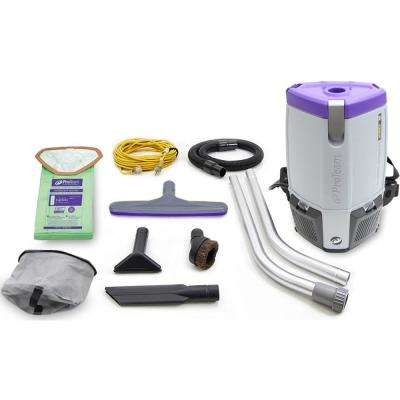 NEW More Powerful Proteam Super Coach Pro 6 Qt. Backpack Vacuum Cleaner